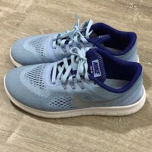 Gently used Nike Free Run sneakers